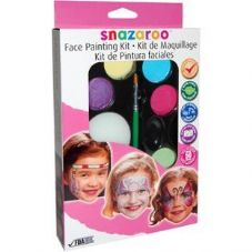 Snazaroo Girl's Face Painting Kit